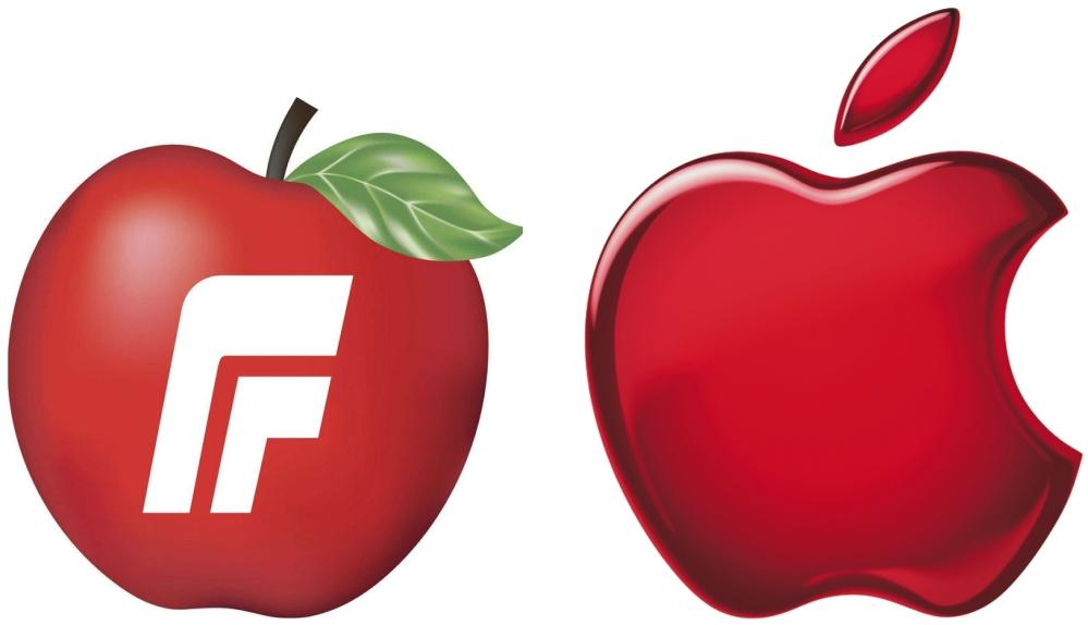 APPLE выступает против наличия «яблока» в логотипе норвежской партии