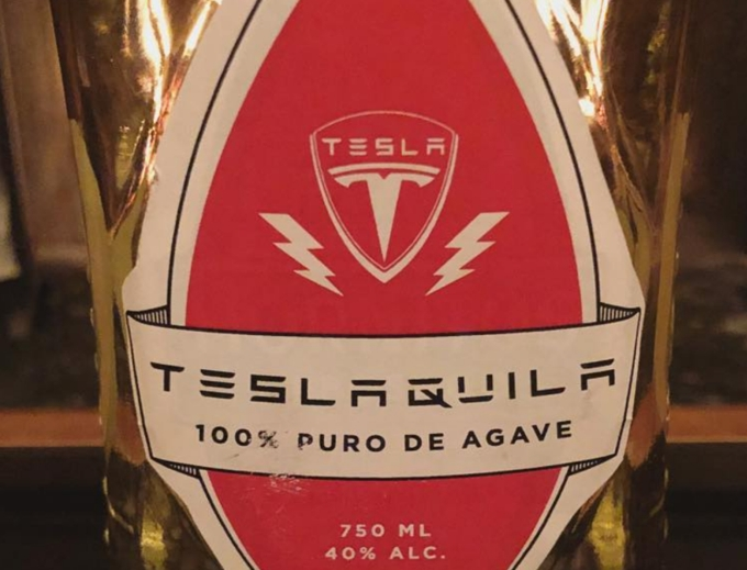 Новый товарный знак от Tesla Teslaquila