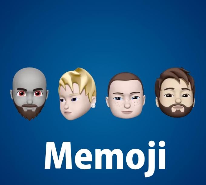 Товарный знак Memoji Мемодзи