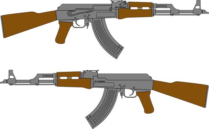 Товарные знаки АК 74, Калашников