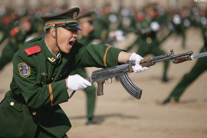 Калашников теперь официально в Китае
