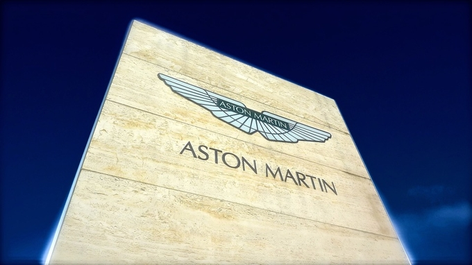 Товарный знак от Aston Martin