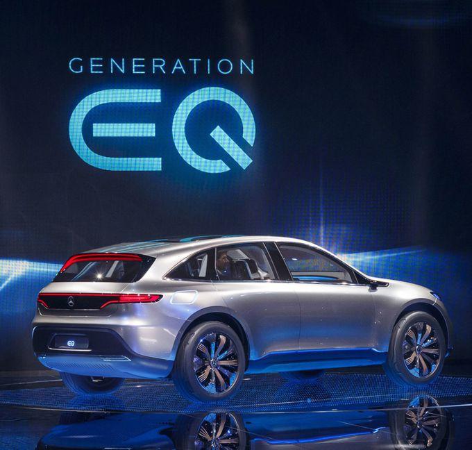 Товарный знак EQ Power + от Mercedes