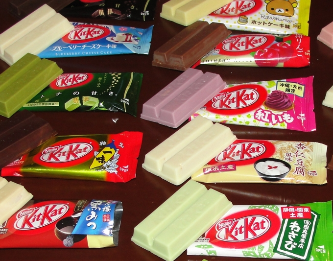 Форма KitKat не будет зарегистрирована в качестве товарного знака