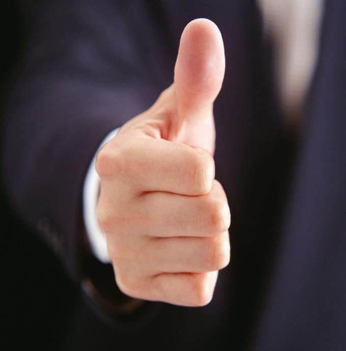 Очередной иск, связанный с товарным знаком в виде большого пальца, указывающего вверх